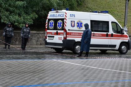 Украинец попытался припарковаться и задавил женщину