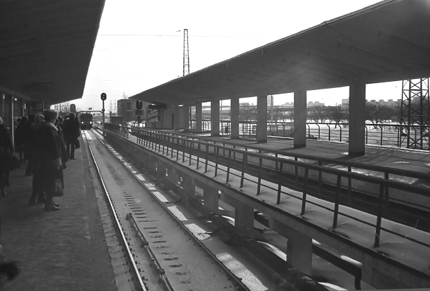 Станция «Ждановская», 1980 год