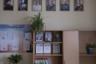 На фото — кабинет ОБЖ и военного дела. <br></br> На стене— портреты известнейших российских военачальников. Чуть ниже — портреты президента Российской Федерации, главы Якутии и главы Усть-Алданского района.