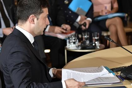 Зеленский заявил о готовности к диалогу с Донбассом