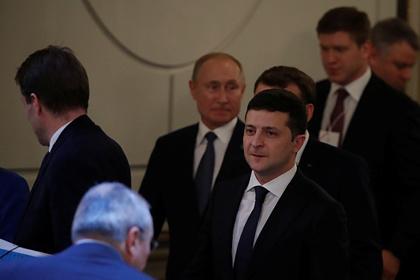 Зеленский посчитал «ничьей» переговоры с Путиным