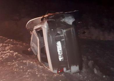 В России водитель насмерть задавил двух пешеходов и погиб