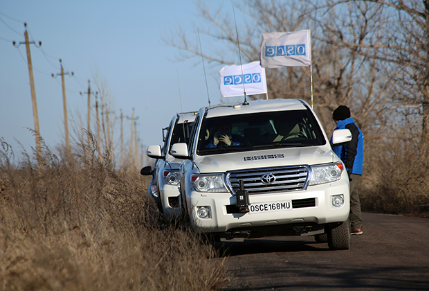 Автомобили специальной мониторинговой миссии ОБСЕ