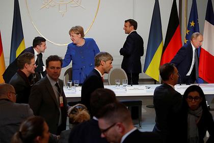 На Украине заявили о рассмотрении вопроса Крыма на «нормандском саммите»