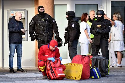 Напавший на чешскую больницу покончил с собой