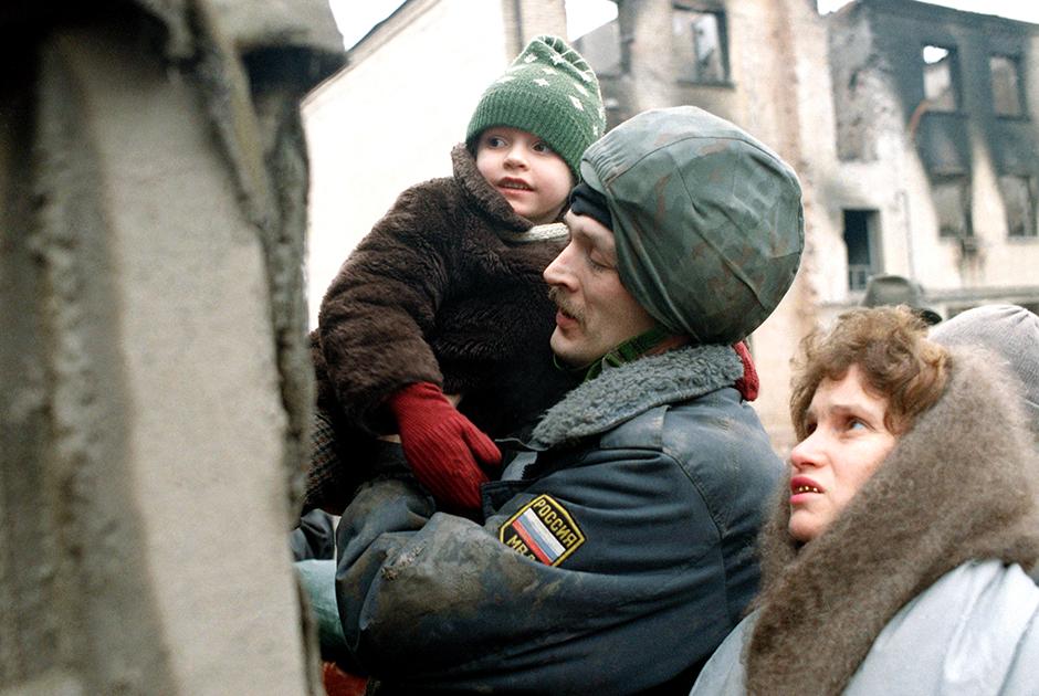 Грозный, январь 1995 года