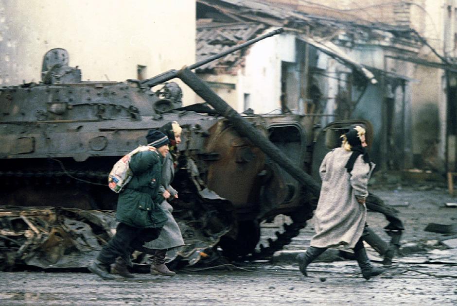 Грозный, 4 января 1995 года