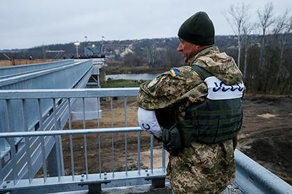 Украина допустила срыв договоренностей «нормандского саммита»