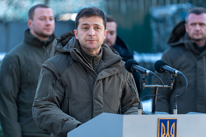 Зеленский призвал развести войска в Донбассе за шесть лет