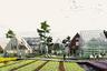 """«Проектом будущего» жюри признало нечто вроде города-фермы, придуманного экспертами бюро Adept, Transsolar и Karres en Brands. Поселение возведут недалеко от Гамбурга, перспективный объем строительства оценивается в миллион квадратных метров. Здесь будет жилье, бизнес-центры, магазины, спортивная, образовательная и досуговая инфраструктура — предусмотрена полная автономность. У города уже есть свой <a href=""""https://www.oberbillwerder-hamburg.de"""" target=""""_blank"""">сайт</a>."""