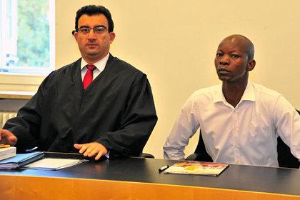 Адвокат Угур Кёр и пострадавший Хамадо Дипама