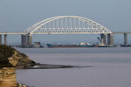 Танкер Neyma в Керченском проливе.