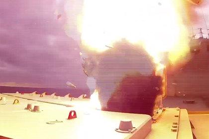 Уничтожение цели «Калибром» в Черном море попало на видео