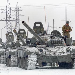 Ввод танковых подразделений Российской армии на территорию Чечни в декабре 1994 года