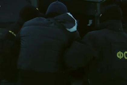 Задержание террориста из «Правого сектора» бойцами ФСБ попало на видео