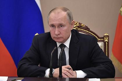 Путин назвал беспардонной ложью резолюцию Европарламента о Второй мировой
