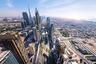 Последняя в списке лучших — концепция развития территории вдоль шоссе шейха Заида в Дубае. Город за последние десятилетия стал центром инновационного строительства и от этого слегка пострадал. Теперь задача архитекторов — «очеловечить» бетонные джунгли. На линии протяженностью около километра вдоль трассы собираются высадить деревья, создать пешеходные пространства. Приз, который дали авторам концепции из бюро Verform, называется WAFX — его вручают за решение важнейших архитектурных задач будущего.