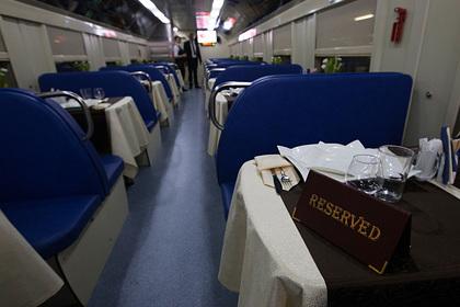 В России задумались о замене вагонов-ресторанов в поездах