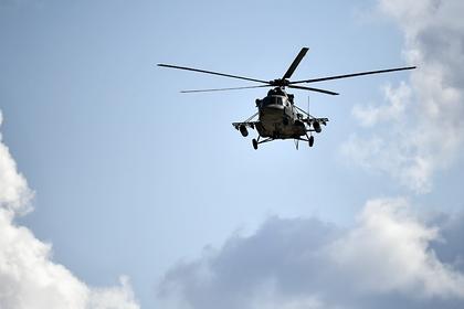 Вертолет Ми-8 разбился в России