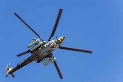 Установлены личности погибших при крушении Ми-28 летчиков