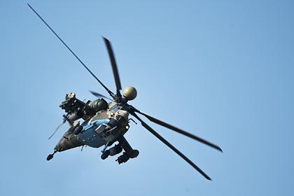 Названа возможная причина крушения Ми-28 на юге России