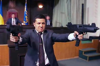 В Кремле отреагировали на прекращение показа сериала с Зеленским в России