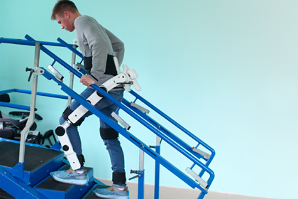 Корпорация МСП поддержала стартап по производству медицинских экзоскелетов