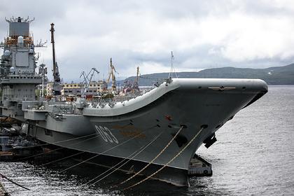 Во время пожара на крейсере «Адмирал Кузнецов» пострадали военные