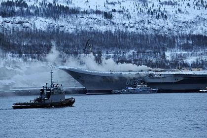 Стало известно о «борьбе за живучесть» крейсера «Адмирал Кузнецов»