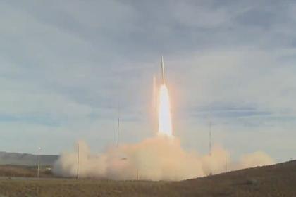 Появилось видео испытаний в США запрещенной баллистической ракеты