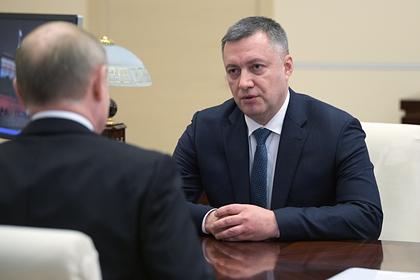 Врио губернатора Иркутской области прилетел в регион