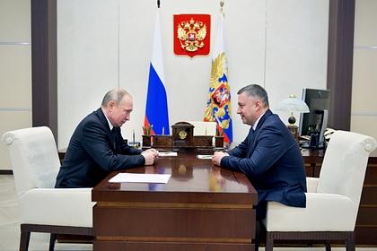 Путин присвоил врио Иркутской области новое звание