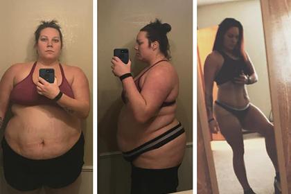 Женщина похудела на 100 килограммов из страха стать посмешищем в интернете