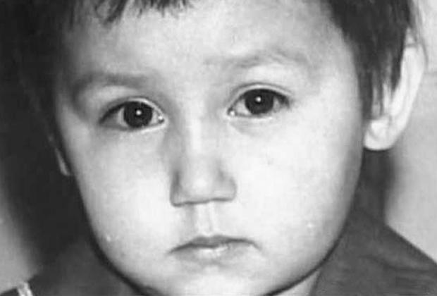 Василий Кулик в детстве