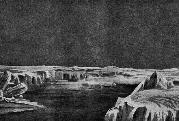 Ледяные поля Антарктиды