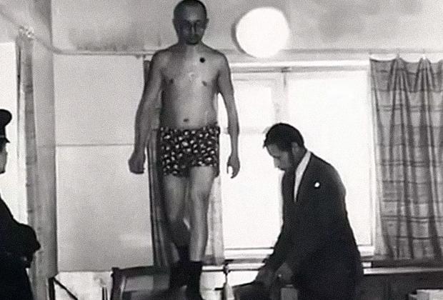 Василий Кулик во время одной из экспертиз