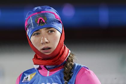 Сборная России по биатлону завоевала первую медаль в сезоне