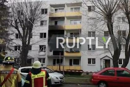 Во взорванном доме в Германии нашли боеприпасы