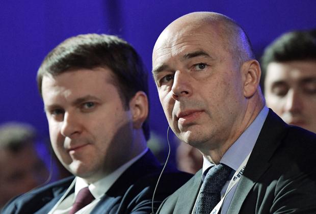 Максим Орешкин и Антон Силуанов.