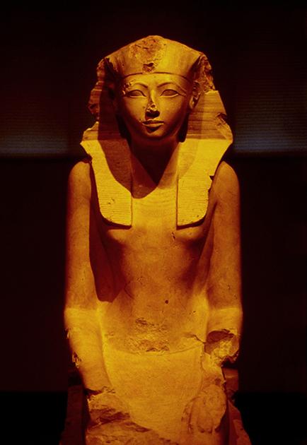 Первая женщина-фараон Древнего Египта Хатшепсут