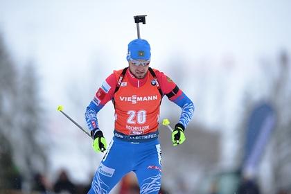 Российский биатлонист Логинов выиграл серебро на этапе Кубка мира