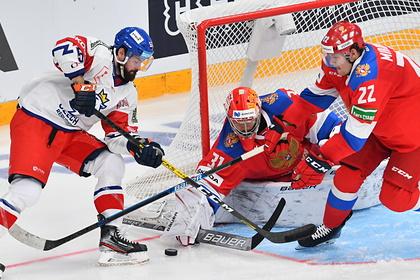 Российские хоккеисты обыграли Чехию по буллитам на Кубке Первого канала