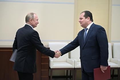 Владимир Путин и Ростислав Гольдштейн