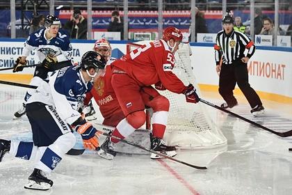 Российские хоккеисты всухую обыграли Финляндию на Кубке Первого канала