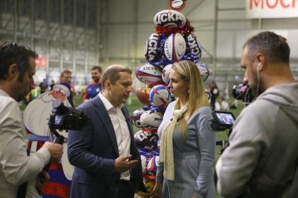 В Москве прошел спортивный фестиваль по тэг-регби