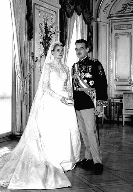 Свадьба актрисы Грейс Келли и князя Монако Ренье III, 1956 год