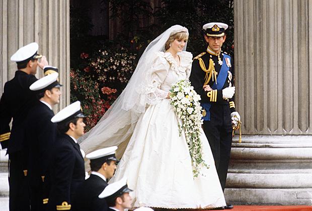 Свадьба Дианы Спенсер и принца Уэльского Чарльза, 1981 год