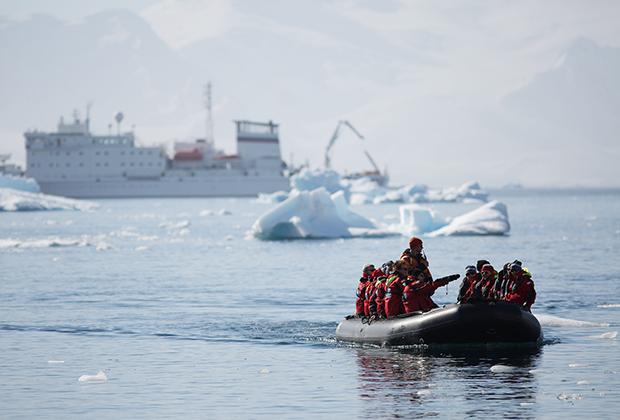 Остров Кувервилль в Антарктике