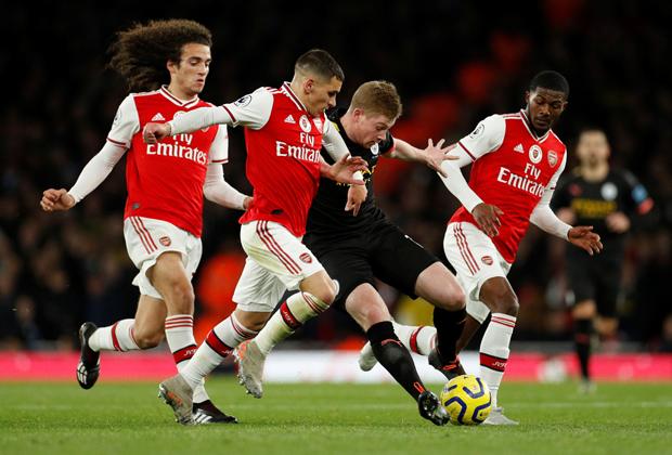 Матч «Арсенал» — «Манчестер Сити»
