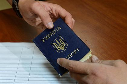Украинцам запретили ездить в Россию по внутреннему паспорту